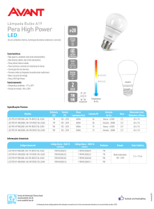 LED PERA HIGH POWER 240 - 9W.indd