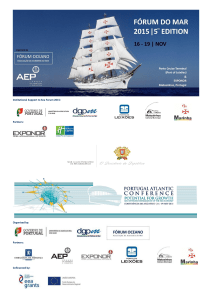 Institutional Support to Sea Forum 2015