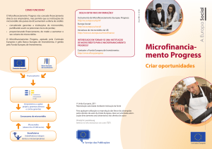 Microfinancia- mento Progress