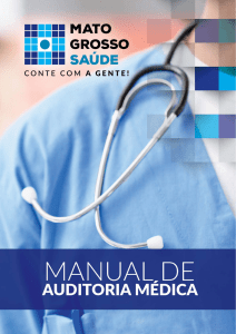 Manual de Auditoria Médica.