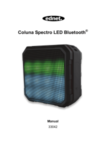 Coluna Spectro LED Bluetooth ® Manual