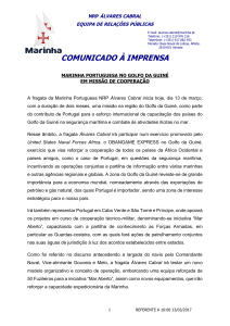 press release nrp alvares cabral