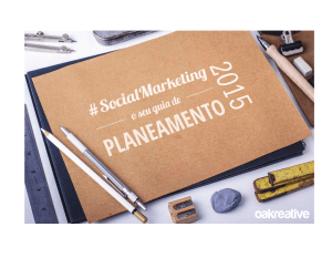 Tendências do Social Media Marketing em 2015