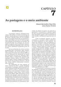 As pastagens e o meio ambiente (PDF Available)