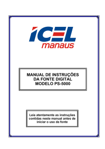 manual de instruções da fonte digital modelo ps-5000