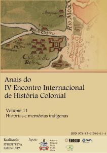 (Orgs.). Anais do IV Encontro Internacional de História Colonial