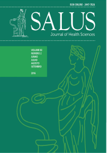 Português - Salus Journal of Health Sciences