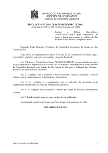 estado do rio grande do sul assembleia legislativa