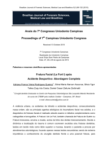 Anais do 7º Congresso Uniodonto Campinas Proceedings