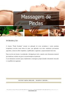 Massagem de Pindas