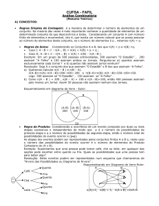 CM A Resumo Analise Combinatoria