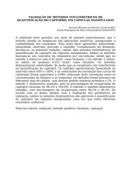 Fórmula estrutural do captopril: A interação do fármaco com a