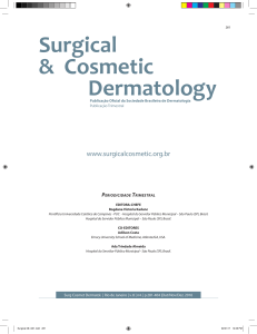Relato de Caso - Surgical And Cosmetic Dermatology