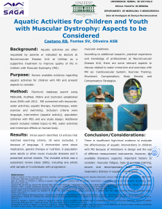 Aquatic Activities for Children and Youth with Muscular Dystrophy