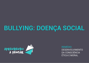 bullying - Aprendendo a Pensar