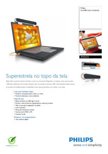 SPA5210/10 Philips SoundBar para notebook