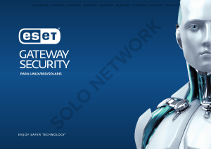 ESET Gateway Security for Linux BSD Solaris | Solo Network