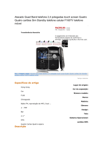 Atacado Quad Band telefone 2,4 polegadas touch screen