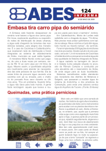 Embasa tira carro pipa do semiárido