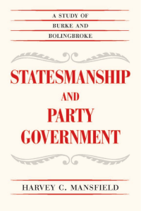 Statesmanship and Party Government  A Study of Burke and Bolingbroke ( PDFDrive.com )