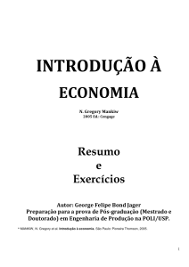 INTRODUCAO A ECONOMIA N. Gregory Mankiw