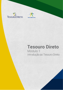 Modulo1 TesouroDireto (2017)