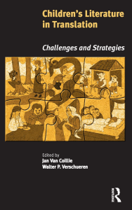Childrens Literature in Translation Challenges and Strategies by Jan Van Coillie, Walter P. Verschueren (z-lib.org)