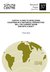 Akyuz Capital flows to developing countries...