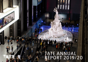 tate annual report 1920